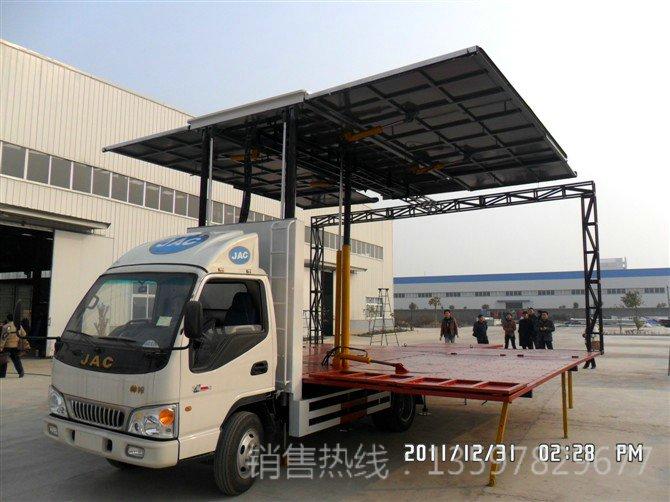 江淮36平米舞台车(三面展开)