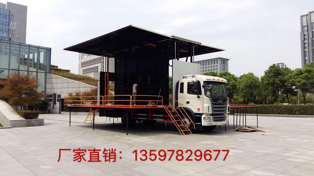 江淮格尔发大屏舞台车