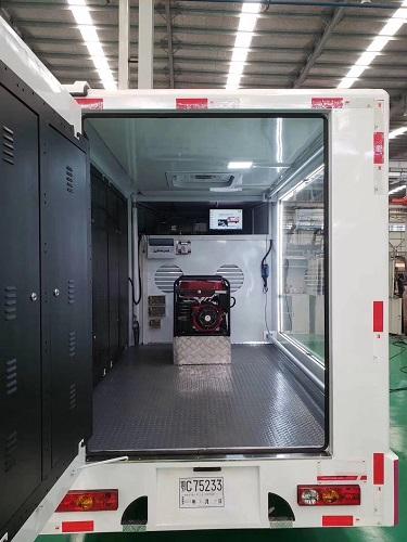 福田小型LED广告车